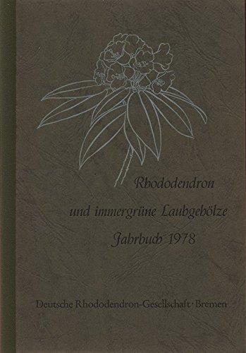 Die Filigran-Farne - schöne Begleitpflanzen der Rhododendron, in: RHODODENDRON UND LAUBGEHÖLZE, Jahrbuch 1978.