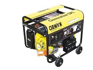 Genyx G5000GPL Groupe électrogène gaz puissance nominale/maximale 4600 W/4800 W