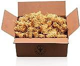 Grill Republic Hochwertige Grillanzünder mit langer Brenndauer Anzünder aus ökologischer Holzwolle und Wachs für Grill, Kamin und Ofen | 1,5 kg