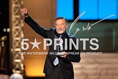Robin Williams 30.48 X 20.32 cm Poster, Signiert von PP Award Winner Lustige Movie Autogramm Legend Print -