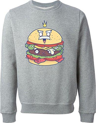 food-king-gray-sweater-xl