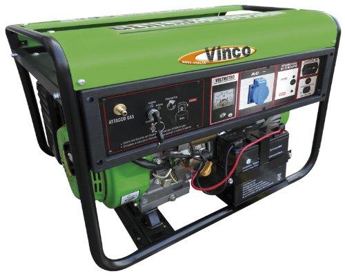 Vinco Stromgenerator, betrieben mit LPG (Flüssiggas), Leistung: 2kW Lpg-generator