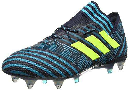 adidas Herren Nemeziz 17.1 SG Fußballschuhe, Blau (Legend Ink/Solar Yellow/Energy Blue), 43 1/3 EU