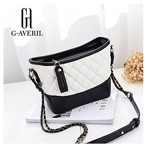 G-AVERIL, Borsa a mano donna blu Blue White