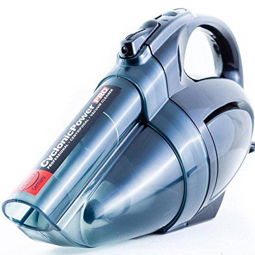 Aspirapolvere portatile per auto heyner cyclonic 12 v con lampada a led.