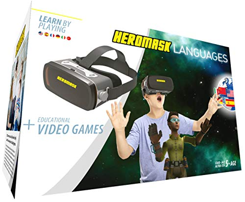 Gafas Realidad Virtual Niños + Juego Educativo Idiomas...