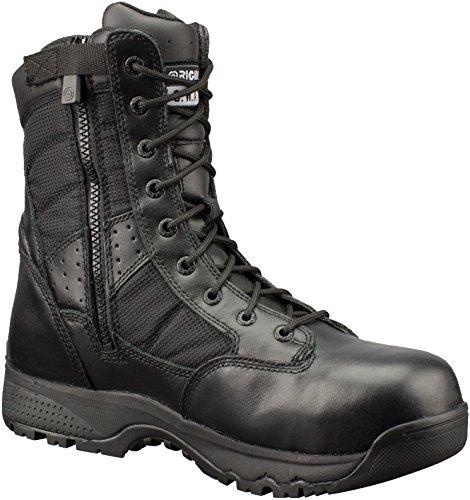 Pretos Trabalho Homens preto Sapatos En Da Metro Segurança 9 Sz Originais Swat Wp zPrwz1q