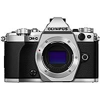 Olympus OM-D E-M5 Mark II Mirrorless Camera, Body Only (Silver)
