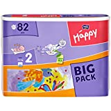 Bella Baby Happy Windeln Größe 2 mini 3-6 kg Big Pack, 1er Pack (1 x 82 Stück)