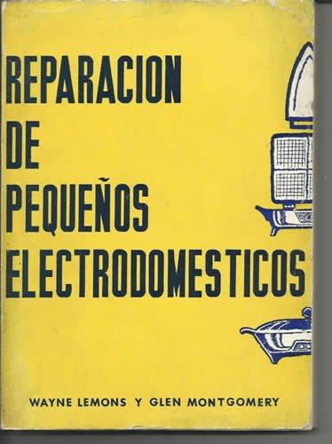 Libro reparaciones electrodomésticos