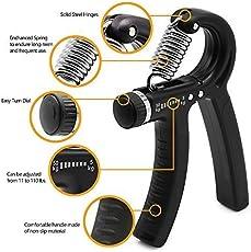 eErlik 10-40 Kg Adjustable and Portable Resistance Hand Exerciser