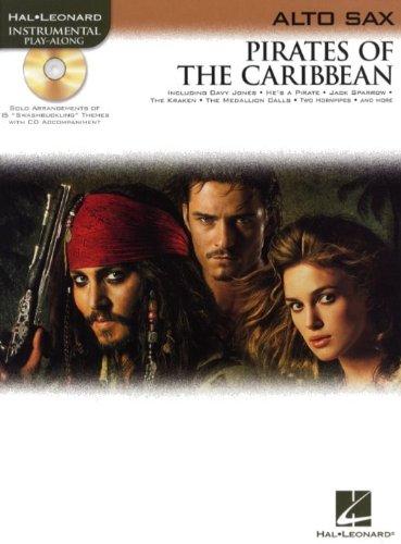 Klaus Badelt: Pirates Of The Caribbean (Alto Sax). Für Alt-Saxophon