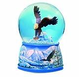 MusicBox Kingdom Sea Eagle Glitter Globe Decorative Box
