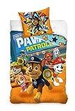 Spin Master PAW Paw Patrol Bettwäsche 140x200, 100% Baumwolle Kinderzimmer Kinder Junge Dream 135x200