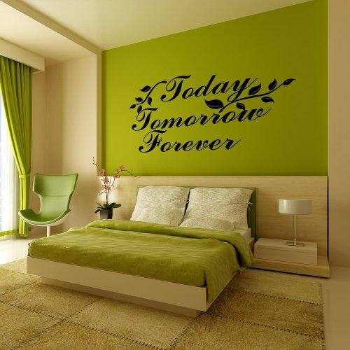 la-promessa-adesivo-da-parete-oggi-domani-forever-da-parete-in-vinile-dicendo-wall-art-adesivi-mural