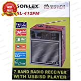 Best Mobile Reception - SONILEX RECHARGEABLE MP3/AM/FM/MW/S RADIO/USB/SW /CARD /TORCH & MOBILE Review