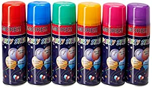 Blue Box Party String - not Silly String - 24 Cans
