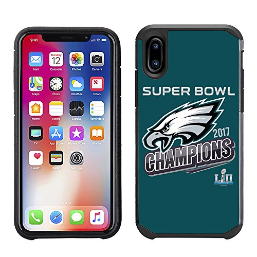 Prime Marken Gruppe iPhone X - Handy Fall - NFL Lizenzprodukt Philadelphia Eagles III Super Bowl Champions Champions-handy-fall