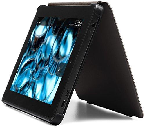 NuPro - Étui fin avec support pour Fire HD 7 (4ème génération - modèle 2014), Noir Noir
