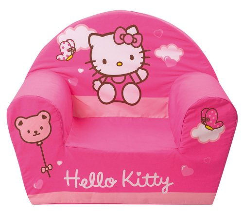 Fun House 711825       Furniture and Decoration       Hello Kitty Children s Foam Armchair Club