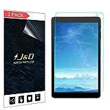 J und D [3er Set] Alcatel 1T 10 inch Bildschirm Schutzfolie, [Ganze Deckung] Premium HD-Clear Schutzfolie für Alcatel 1T 10 inch
