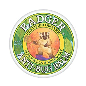 51KgkdP08OL. SS300  - Badger Anti-Bug Balm 2oz Tin