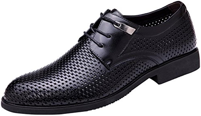 Sandalen Männer mit Hohlen Lederschuhen Fashion Boutique Business Männer Schuhe