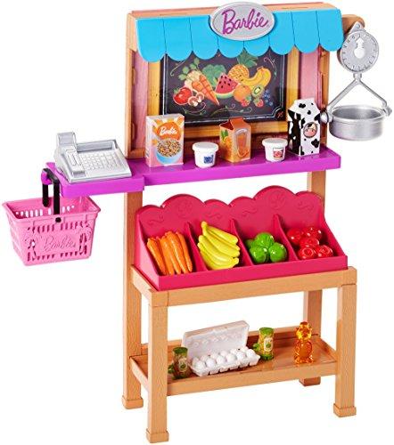 Barbie Playset tienda de comestibles (Mattel FJB27)