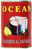 Ocean Sgombro Mackerel Al Naturale 400Gr