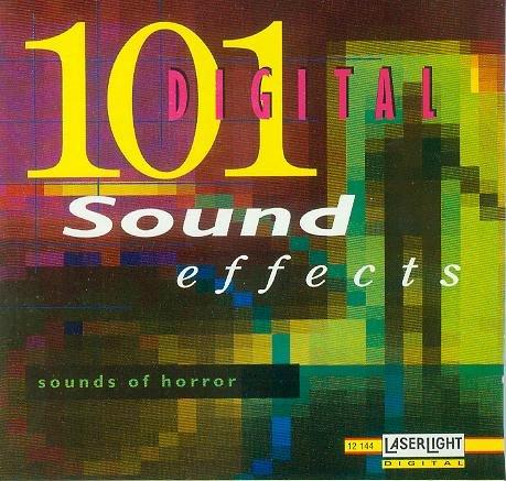 Preisvergleich Produktbild 101 Digital Sound Effects - Horror [1 AUDIO-CD, CD 12144, Schreckenslaute, Sound-Effekte]