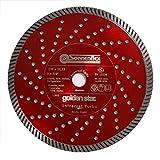 Sonnenflex Golden Star Diamant- Trennscheiben Universal Turbo, 125 x 22,23 mm, 81032
