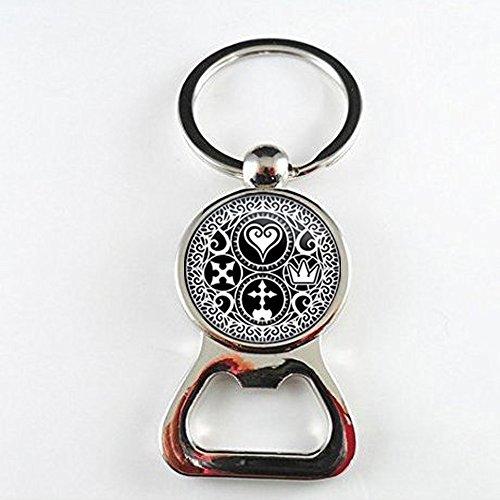 m Hearts Ultimania Trinity Emblem-Flaschenöffner, Flaschenöffner Geschenk für sie ihn, nekel gratis Schmuck ()