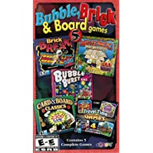Classic Bubble, Brick & Board Games Bonus 5 Pack (Inglés Import)