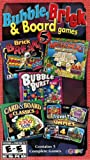 Bubble, Brick & Board Games (Brick Break / Mahjongg Ancient Adventures / Card & Board Classics / Bubble Burst Remix / Travel Time Games) -