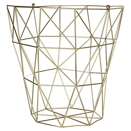 Premier Metall (Premier Housewares Vertex, vergoldet, Metall, Gold, 31 x 31 x 31 cm)