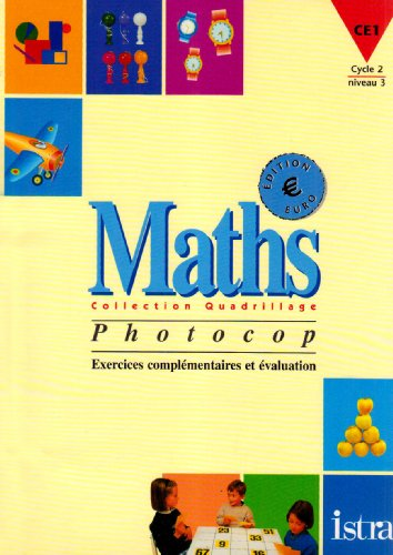 EXERCICES MATHS CE1. : Photocopies, édition 2001