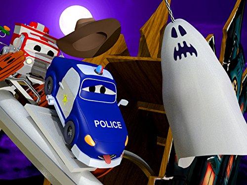 Halloween ! Der Geisterzug/Das Auto-Baby Rennen