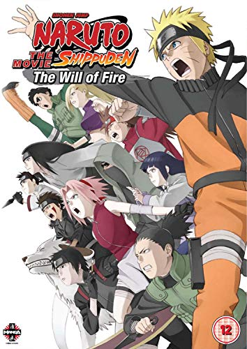 Naruto Shippuden The Movie 3: The Will of Fire [UK Import]
