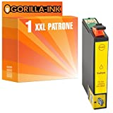Gorilla-Ink® 1 Patrone XL 29XL GI2994 Yellow kompatibel für Epson Expression Home XP-332 XP-335 XP-342 XP-345