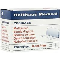 Ypsigaze Mullbinde 6 cmx4 m, 20 St preisvergleich bei billige-tabletten.eu