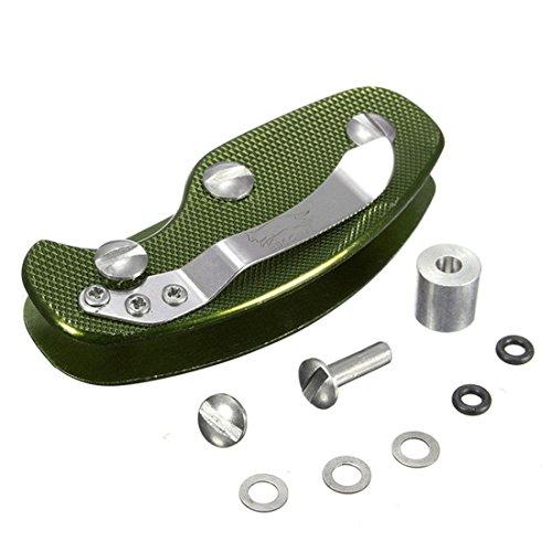 Outil de poche Porte clé Aluminium Key Holder-Vert