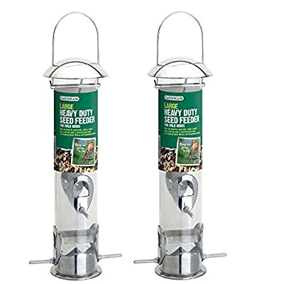 Gardman Heavy Duty Seed Feeder , Metal , Wild Bird Feed