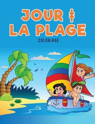 Jour ‡ la plage Coloriage par Coloring Pages for Kids