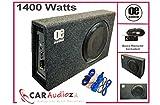 OE AUDIO OE 112SA Subwoofer eingebauter AMP Amplified Active Slim Shallow Bass Box