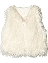 Pumpkin Patch Girl's Furry Vest Gilet
