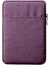 IPUIS 9-10Pouces Étui Housse Sacoche Sac de Protection Résistant aux Chocs Apple iPad 1/2/3/4, iPad Air/Air 2, Tout Nouveau iPad 9.7 2017, iPad Pro 9.7, Samsung Galaxy Tab E 9.6 - Violet