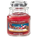 Yankee Candle Small Jar Candle, Christmas Eve