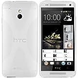 mumbi X-TPU Schutzhülle für HTC One mini Hülle transparent weiss