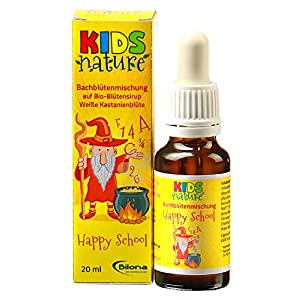 Kids Nature Happy School, Bachblüten-Komplexmittel *alkoholfrei*, 20ml Stockbottle