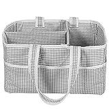 Baby-Windelkorb, faltbar, für Kinderzimmer, Babytücher, tragbarer Korb mit mehreren Trennschichten, für Reisen im Freien